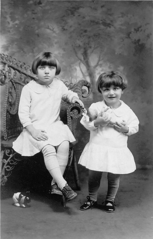 These children are most likely related to the adult couple featured in the other photo taken on 2 May 1931.