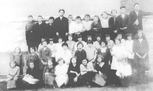 Mrs. Balthis' Fourth Grade Class, 1922