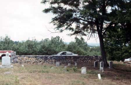 Holman's Creek Orchard Cemetery, as it appeared in June of 2002